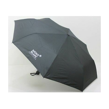 Mont Blanc Grey Foldable Umbrella