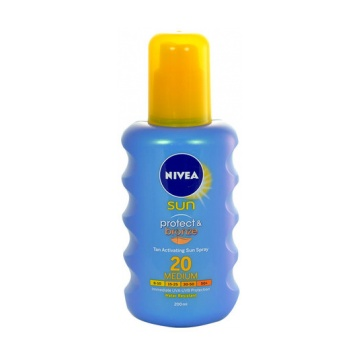 Nivea Sun Protect & Bronze Spray SPF20