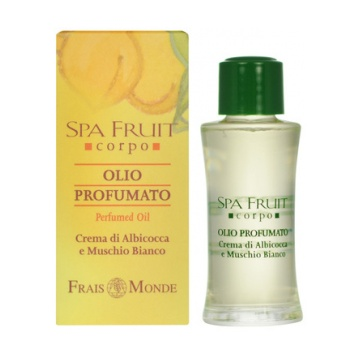 Frais Monde Spa Fruit Apricot And White Musk Perfumed Oil