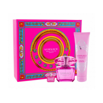 Versace Bright Crystal Absolu W Edp 90 ml + Shower Gel 150 ml + Edp 5 ml SET