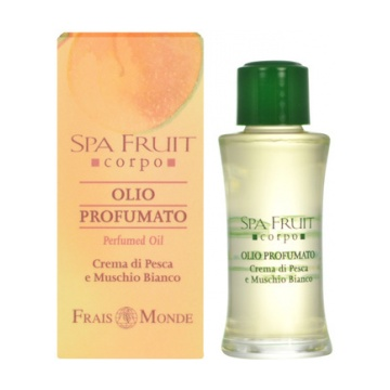 Frais Monde Spa Fruit Peach And White Musk Perfumed Oil